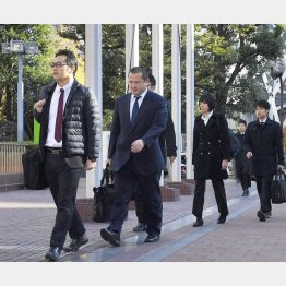 東京地検特捜部はスーパーゼネコン4社を強制捜査(C)共同通信社