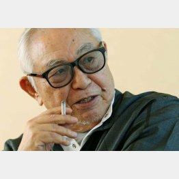 「いまは完全にやすらぎロス」と倉本聰氏(C)日刊ゲンダイ