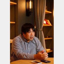 アソビシステム代表取締役社長の中川悠介さん(C)日刊ゲンダイ