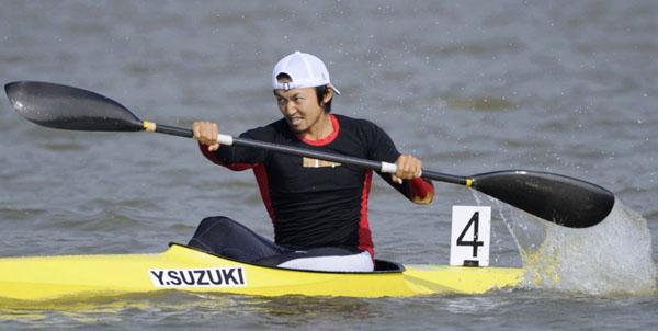 2010年、広洲アジア大会出場時の鈴木康大(C)共同通信社