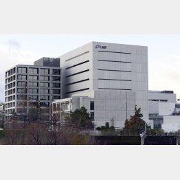 熊本市の化血研(C)共同通信社