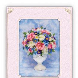「ALSOK」お祝いや感謝メッセージを3Dの花とともに送る