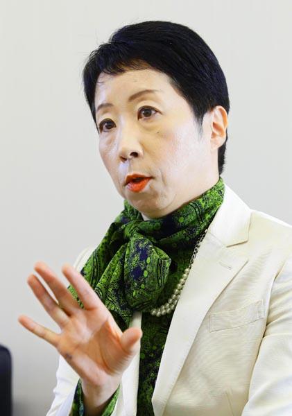 金融緩和は「短期間だからこその政策」と白井氏/(C)日刊ゲンダイ