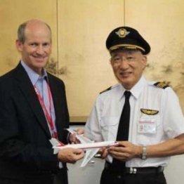 ボーイング・ジャパンのマイケル・デントン社長と(2011年9月)