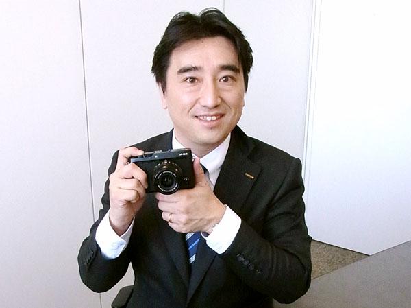 デジタルカメラ「Xシリーズ」/(C)日刊ゲンダイ