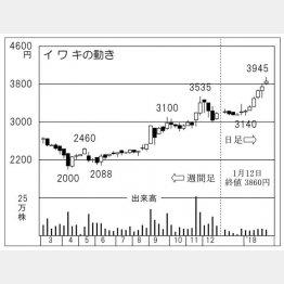 イワキ(C)日刊ゲンダイ