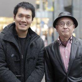 神田松之丞(左)と吉川潮氏
