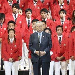 リオの壮行会では「表彰台で国歌を」と念押しした森喜朗五輪組織委会長
