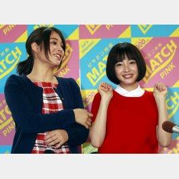 広瀬アリス(左)と広瀬すず姉妹(C)日刊ゲンダイ