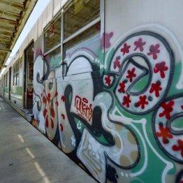 地下鉄で連続被害 電車落書き犯がなかなか捕まらないワケ