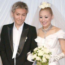 KEIKOとの結婚披露会見時