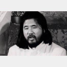 麻原彰晃こと松本智津夫死刑囚(C)共同通信社
