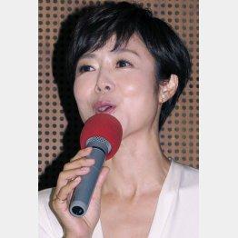 NHKの有働由美子アナウンサー(C)日刊ゲンダイ