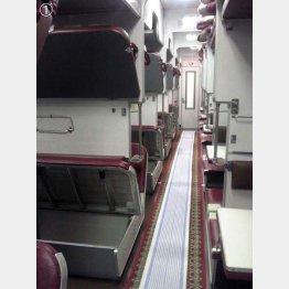こちらはウクライナ鉄道のプラッツカルト車内。ロシアと同様の造りだ。(提供写真)