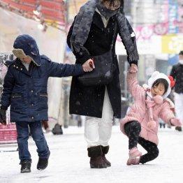 東京並み積雪経験なし…もしも大阪にドカ雪が降ったら?