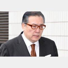 一派で唯一当選した阿武松親方(C)JMPA