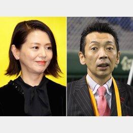 小泉今日子(左)の不倫報道をスルーした宮根誠司/(C)日刊ゲンダイ