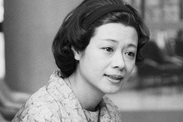 60年代前半当時の加藤治子(C)共同通信社
