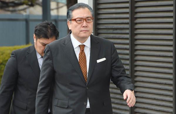 実権を握る阿武松親方(C)JMPA
