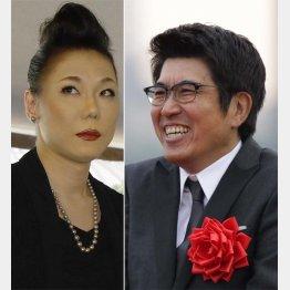 ダブルMCを務める石橋貴明(右)とミッツ・マングローブ/(C)日刊ゲンダイ