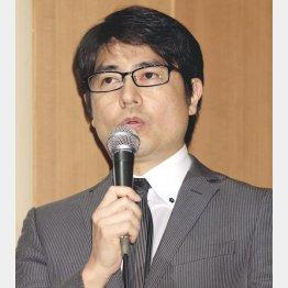 TBSを退社する安東弘樹アナ(C)日刊ゲンダイ