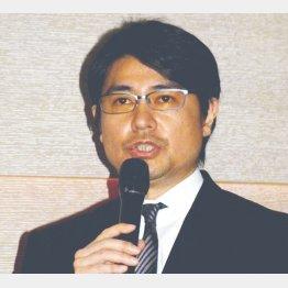 """""""アンディ""""の愛称で親しまれた(C)日刊ゲンダイ"""