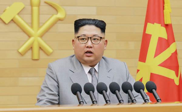 金正恩委員長(朝鮮中央通信撮影=共同)