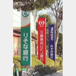 3メガ銀行は計3万人をリストラ予定(C)日刊ゲンダイ