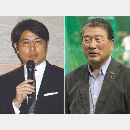 徳光和夫(右)の後釜も狙える?/(C)日刊ゲンダイ
