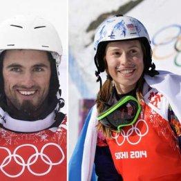ヒゲ面の女王サムコバ スノーボードクロスで連覇の可能性