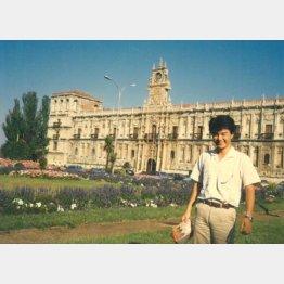 1986年、25歳ごろの篠塚社長(提供写真)