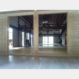 南禅寺の一室(提供写真)