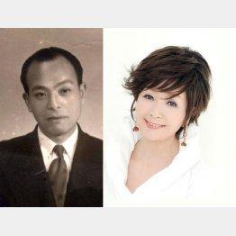 デビューも復帰も父(写真左)の存在抜きには語れない/(C)ミュージックオフィス合田