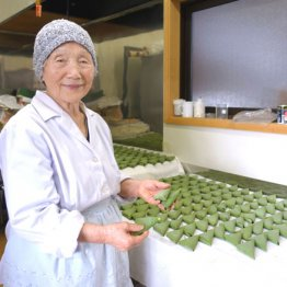 75歳で「笹餅屋」起業 91歳桑田ミサオさんの生きる術