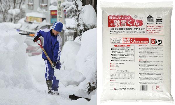 ベストセラーの「融雪くん」(右)/(C)日刊ゲンダイ