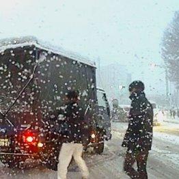 フロアマット代用で脱出 車に積んでおくと役立つ雪の備え