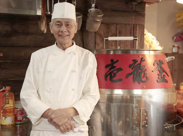 中国料理壱龍釜の唐子庭さん(C)日刊ゲンダイ