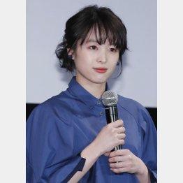 今年で女優歴10年になる清野菜名(C)日刊ゲンダイ