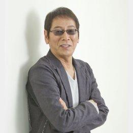 2016年、日刊ゲンダイで連載時の大杉漣さん(C)日刊ゲンダイ
