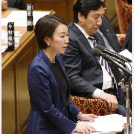 知識では山尾志桜里議員にかなわず(C)日刊ゲンダイ