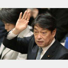 低姿勢がウリとはいえ(小野寺五典防衛相)/(C)日刊ゲンダイ