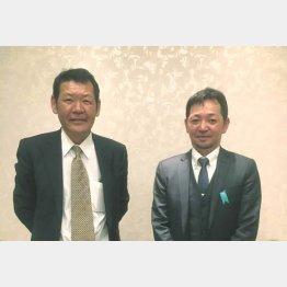 羽田野さん(左)と髙橋さん(C)日刊ゲンダイ