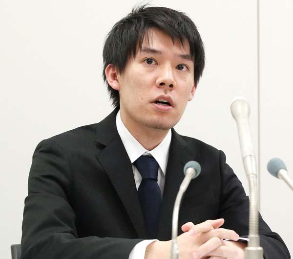 コインチェックの和田晃一良社長(C)共同通信社