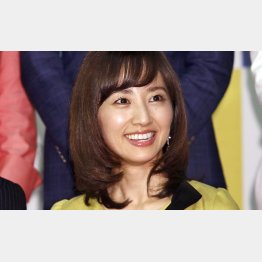 NHKの首藤奈知子アナウンサー(C)日刊ゲンダイ