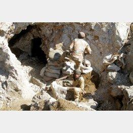 コンゴのコバルト鉱山(C)ロイター=共同