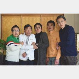 最後まで俳優だった大杉漣さん(央)/(C)「バイプレイヤーズ2018」製作委員会