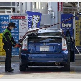 ガソリンスタンドが見つからない?(C)日刊ゲンダイ