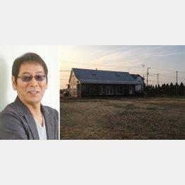 大杉漣さんと九十九里の別荘(C)日刊ゲンダイ