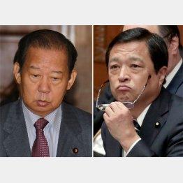 二階幹事長と福井沖縄・北方担当相(C)日刊ゲンダイ