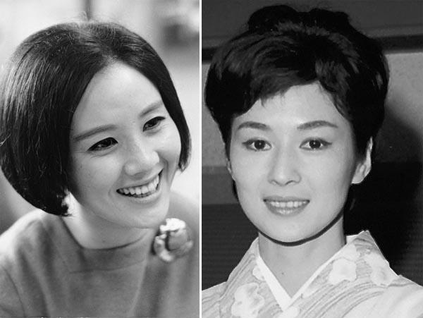 南田洋子(左)と司葉子/(C)共同通信社
